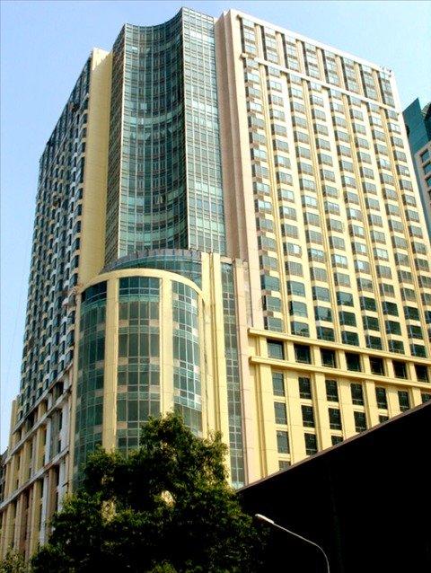 Hyatt Hotel and Casino Manila Pohled zvenku