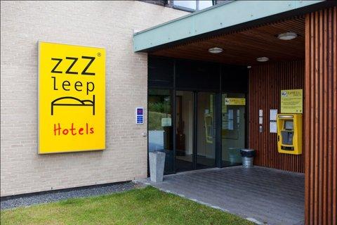 Zleep Hotel Billund - Mainentrance