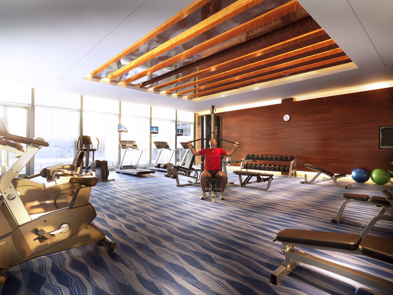 Radisson Hotel Shanghai Hong Quan Fitness salonu