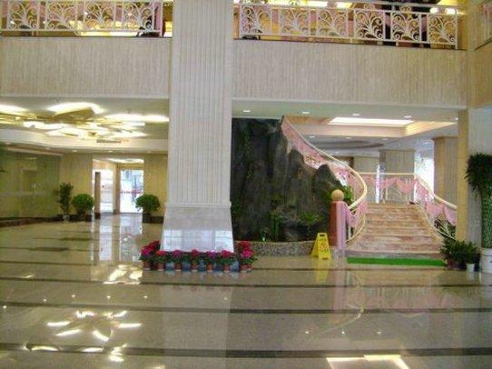 Jiujiang Huaqi Holiday Hotel Вестибюль
