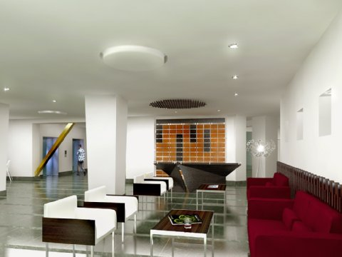 Hotel Continental All Suites - Lobby