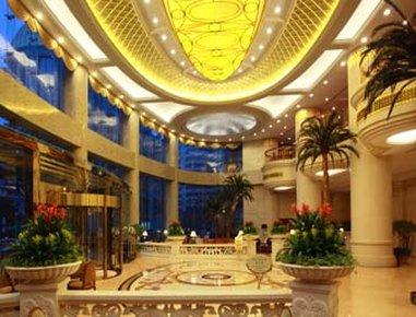 Howard Johnson Plaza Hotel Shanghai Außenansicht