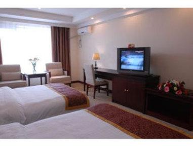Super 8 Hotel Xian Da Yan Ta Odanın görünümü