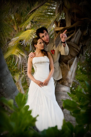 Las Terrazas Resort and Residences - Wedding Portrait