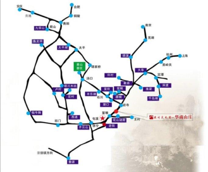 徽州文化园 地图