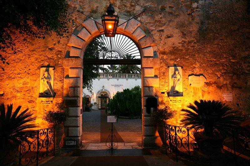 San Domenico Palace Hotel Vista exterior