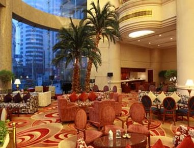 Howard Johnson Plaza Hotel Shanghai Außenansicht