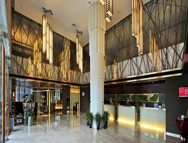 Ramada Plaza Caohejing Hotel Außenansicht