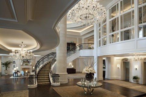 The St. Regis Atlanta - Lobby With Staircase