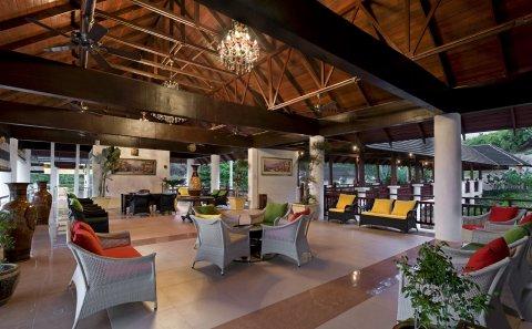 Sibu Island Resort - Lobby