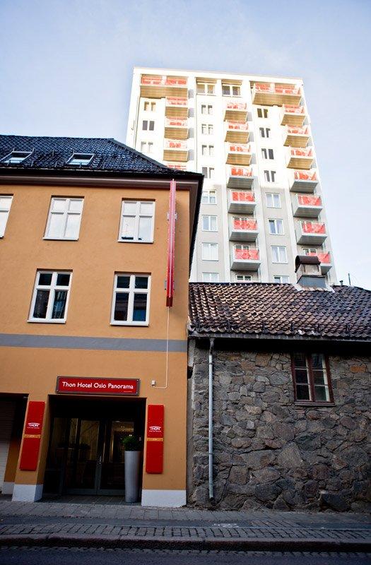 Thon Hotel Oslo Panorama 外景