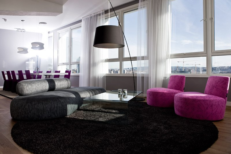 Thon Hotel Oslo Panorama 套间