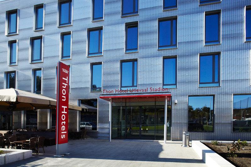 Thon Hotel Ullevaal Stadion Buitenaanzicht