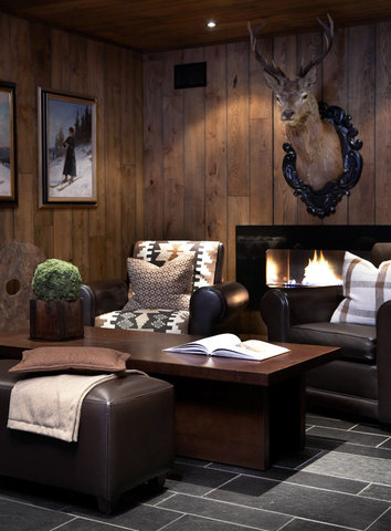 Thon Hotel Vestlia Resort - Fireplace