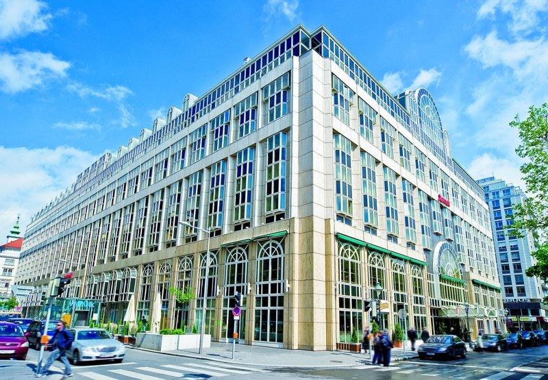 Marriott Vienna Außenansicht