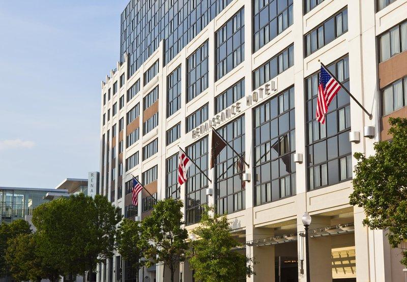 Renaissance Washington DC Hotel Außenansicht