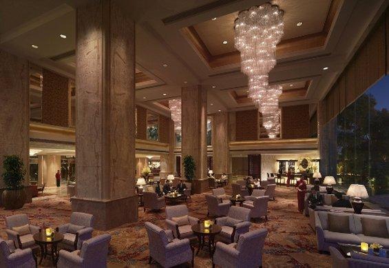Shangri La Hotel Wuhan Lobby