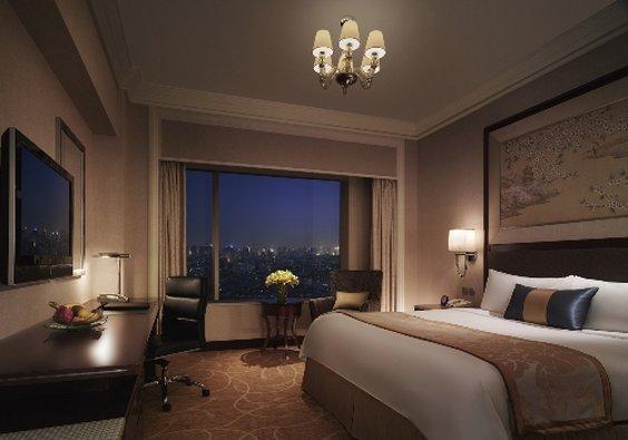 Shangri La Hotel Wuhan Billede af værelser