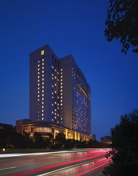 Shangri La Hotel Wuhan Set udefra