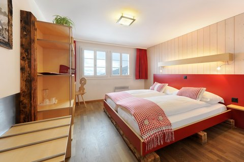 Berghaus Bort Hotel - Double room with Eiger view