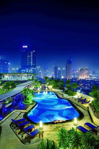 Hotel Indonesia Kempinski Jakarta - Sky Pool