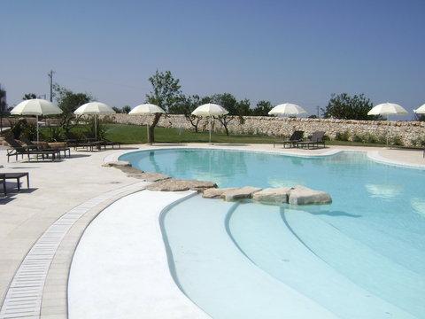 Borgobianco Resort & Spa - A View Of The Pool