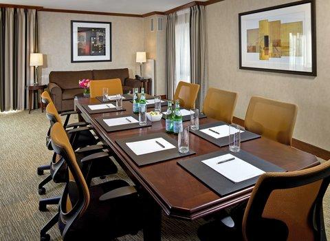 Millennium Bostonian Hotel Boston - Blackstone Suite  Boardroom