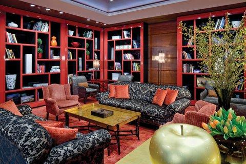 Millennium Bostonian Hotel Boston - Lobby  Library