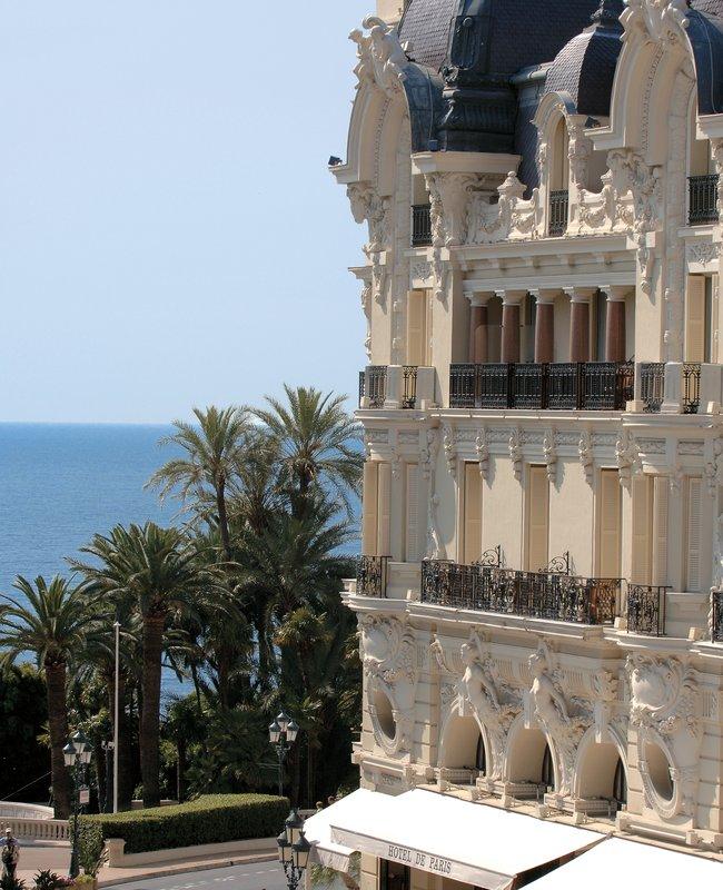 Hotel De Paris Außenansicht