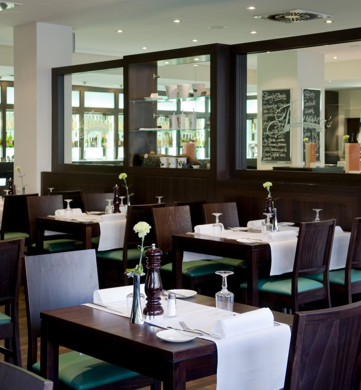 Flemings Hotel Frankfurt Hamburger Allee 餐饮设施