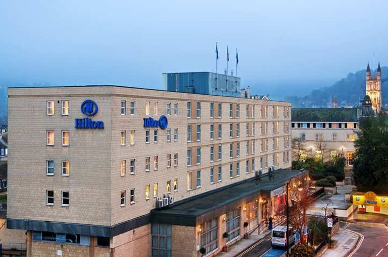 Hilton Bath City Vista exterior