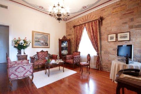 Argentikon Luxury Suites - Living Area