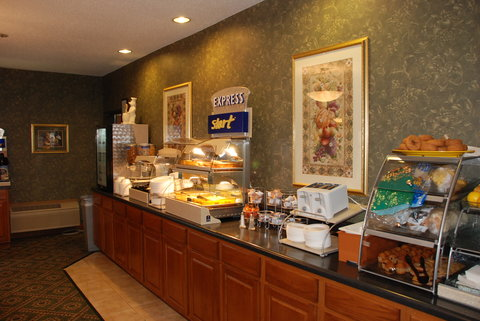 Holiday Inn Express & Suites BLOOMINGTON CITY CENTER-NORMAL - Breakfast Bar Library