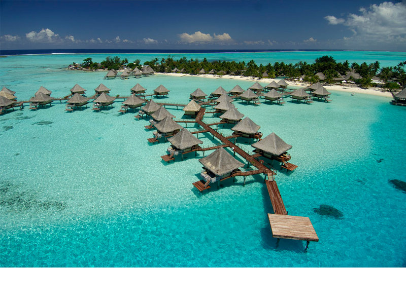 InterContinental Le Moana Resort Bora Bora Außenansicht