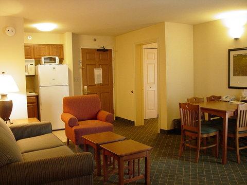 Staybridge Suites AURORA/NAPERVILLE - Two Bedroom Suite Living Area