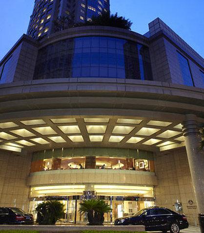 Renaissance Shanghai Pudong Hotel Außenansicht