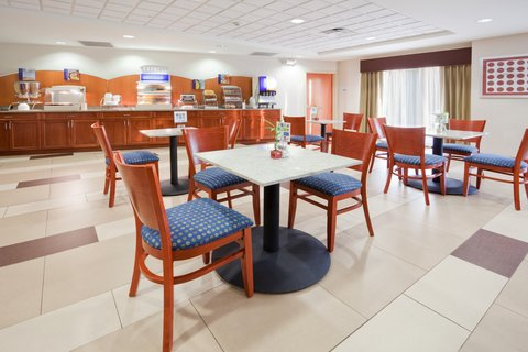 Holiday Inn Express & Suites WESTFIELD - Wake up with our Express Start Breakfast Bar