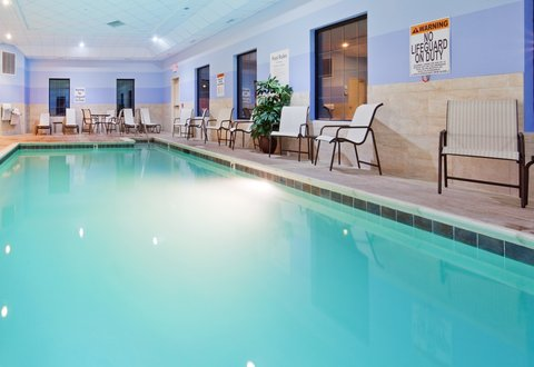 Holiday Inn Express & Suites WESTFIELD - Go for a swim year-round in our Indoor Heated Pool