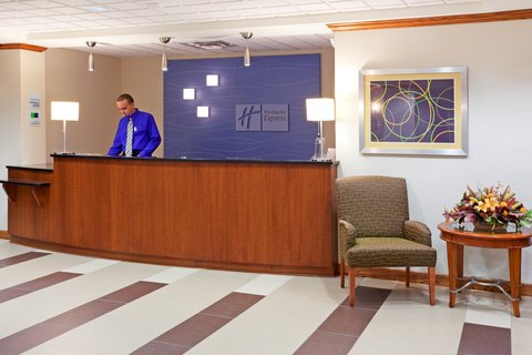 Holiday Inn Express & Suites WESTFIELD - Reception