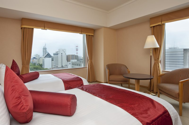 Crowne Plaza Ana Toyama 客房视图