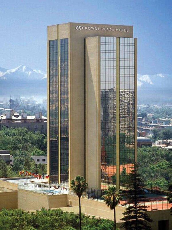 Crowne Plaza Hotel Santiago Vue extérieure