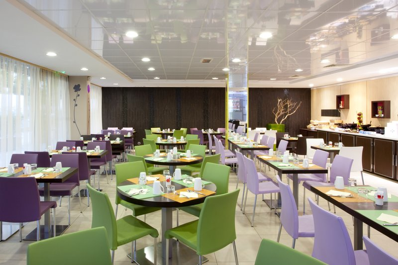 Holiday Inn Express Paris-Canal de la Villette 餐饮设施