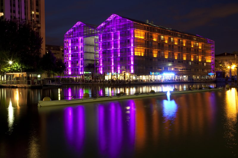 Holiday Inn Express Paris-Canal de la Villette Außenansicht