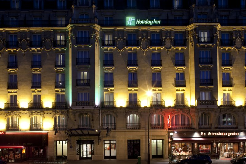 Holiday Inn Paris-Gare de L'est Außenansicht