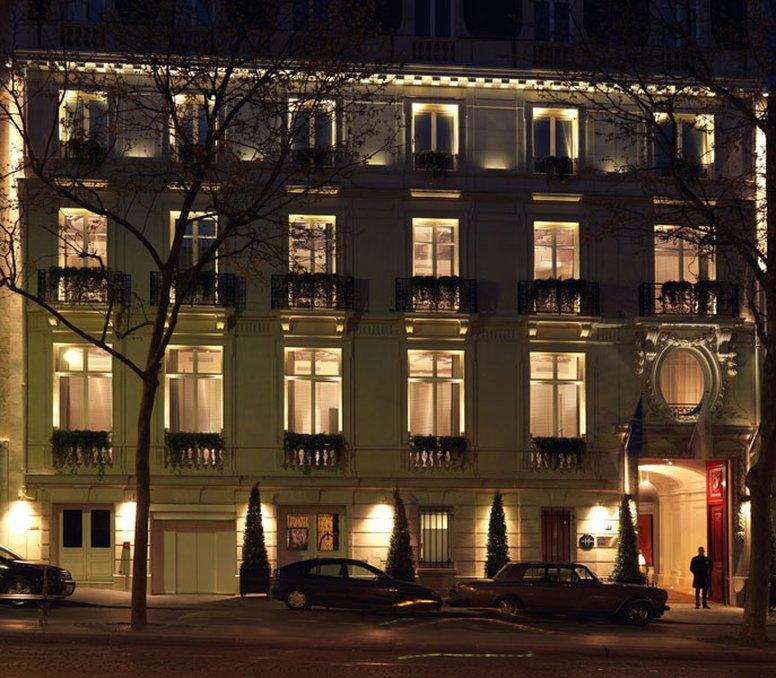 InterContinental Paris Avenue Marceau Außenansicht