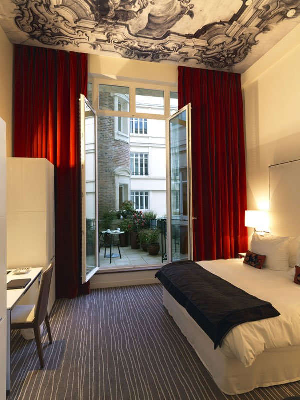 InterContinental Paris Avenue Marceau Zimmeransicht