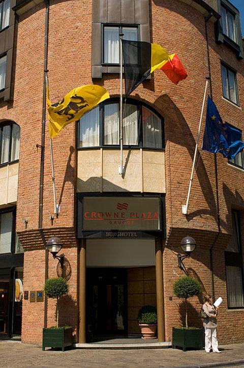 Crowne Plaza Hotel Brugge Außenansicht