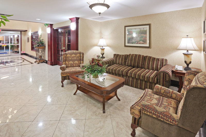 Holiday Inn Express Hotel & Suites Gainesville Előcsarnok
