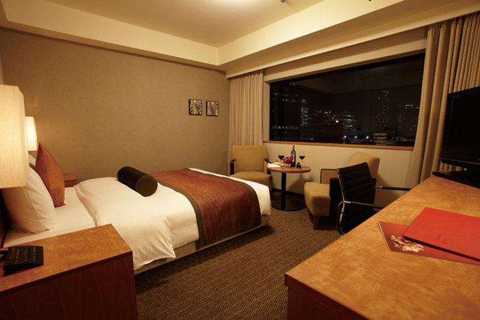 Crowne Plaza Hotel Ana Osaka View of room