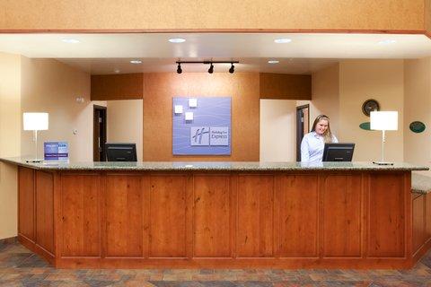 甘尼森快捷假日套房酒店 - Hotel Lobby  Holiday Inn Express - Gunnison  Colorado